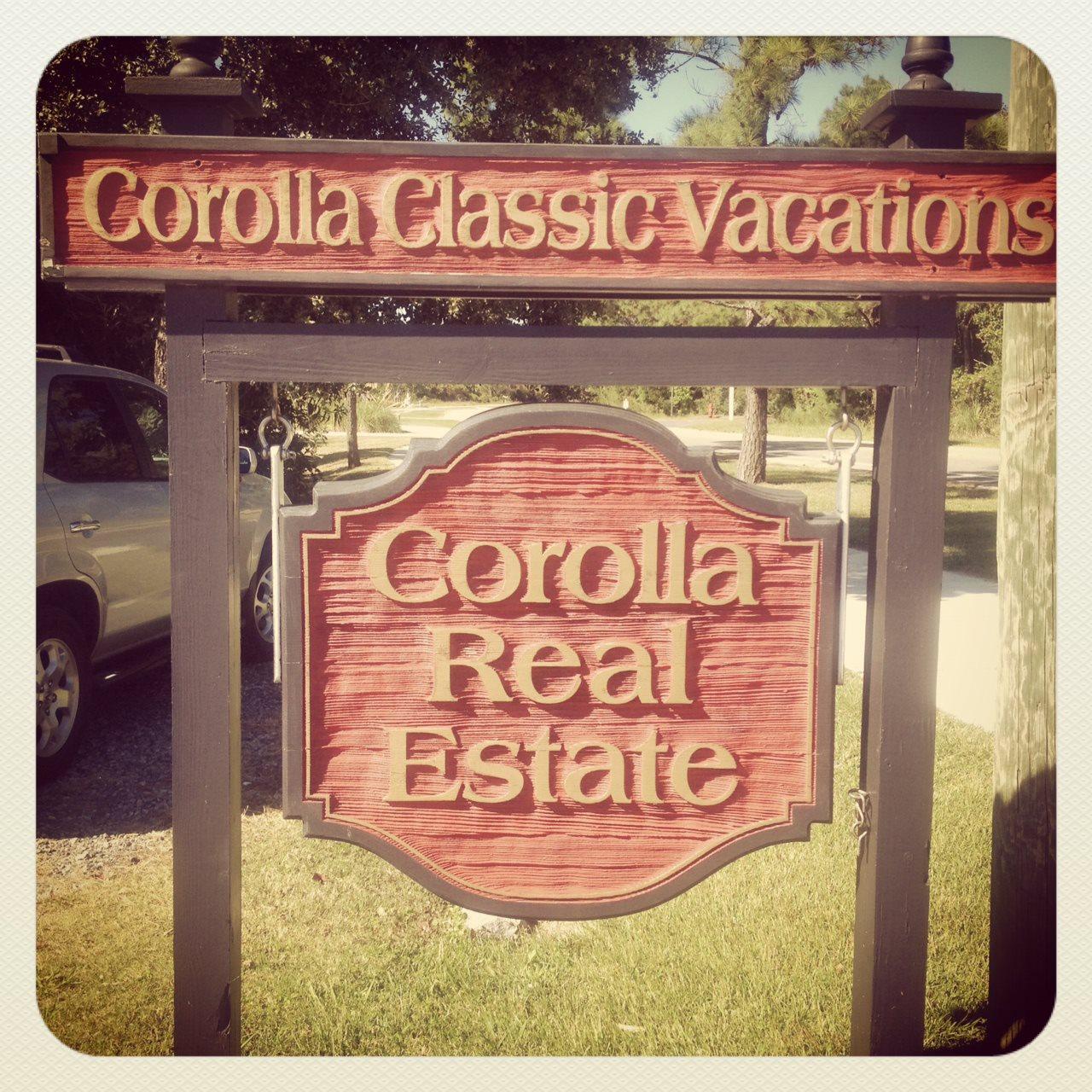 Corolla Classic Vacations in Corolla NC